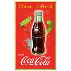 Coca-Cola Pause Refresh Party Noisemakers Wall Decal Decor Coke
