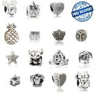 Genuine Alloy Silver Charm Bead Fit European Bracelet Plated 925 Alloy