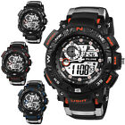 Luxury Brand Black Sports Watches men Fashion Army Military Water Resist Relojes