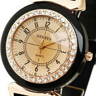 New Crystal Jelly Quartz Watch Women Girl Elegant White Silicon Rubber Band Case