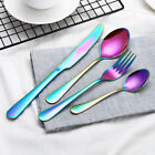 4PCs/Set Stainless Steel Cutlery Fork Set Tableware Cutleries  Food Tool