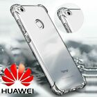 360° Shockproof Soft Silicone TPU Clear Case Cover Fr Huawei P8 P9 P10 Plus Lite