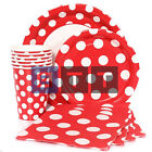 Polka Dot Stripes Chevron Quatrefoil Party Napkins Cups Plates Tableware Listing