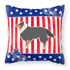 Caroline's Treasures Patriotic Indoor/Outdoor Throw Pillow