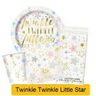 TWINKLE TWINKLE LITTLE STAR Baby Shower Birthday Party Tableware Decorations{1C}