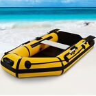 7.5FT Fishing Tender Security Rafting Dinghy Inflatable Boat Set For 2 Persons
