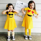 Toddler Infant Kids Baby Girls Dress Summer Casual Princess Sun Dresses Outfits