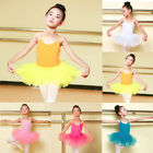 toddlers dance clothes - Toddler Girls Ballet Dress Tutu Leotard Dance Gymnastics Strap Clothes Solid