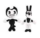 "12"" Bendy And Boris the ink machine Plush Doll Figure Toys For Kids UK STOCK"