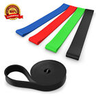 Stretch Fitness Tube Workout Bands Yoga Pilates Abs Exercise Yoga Elastic Band