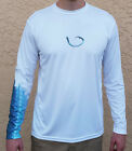 Long Sleeve Microfiber Tarpon Fishing Shirt - Tarpon Scale Sleeve