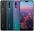 "NEW Huawei P20 Pro CLT-L29 128GB/6GB Dual Sim (FACTORY UNLOCKED) 6.1"" Black Blue"