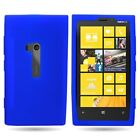 For Nokia Lumia 920 Soft Case - Shockproof Silicone Rubber Skin / TPU Slim Cover