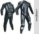 RST Pro CPXC II 2 1840 One Piece White Motorcycle Leather Suit Track Race 1
