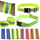 Внешний вид - 1/2x High Visibility Reflective Safety Elastic Waist Arm Belt Running Biking