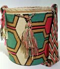 Wayuu Mochilla Summer Shoulder Bags Premium Quality Handmade in Colombia