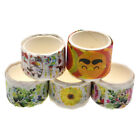 80 Pcs Flower Cat Smile Washi Tape DIY Scrapbooking Paper Stickers Stationery