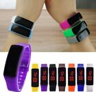 Children Boys Girls Digital LED Sports Watch Unisex Silicone Band Wrist Watches