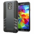 samsung s5 phone cover - SAMSUNG GALAXY S5 PROTECTIVE HYBRID SHOCKPROOF IMPACT SKIM CASE PHONE COVER