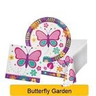 Butterfly Garden Range Tableware Balloons Decorations Supplies - CP
