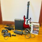 Xbox 360 elite 120GB HDD GH guitar! Kinect! 2 controllers & internet adapter!