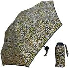 "38"" Arc Ultra Mini Flat Umbrella w/Sparkle Trim, 7.5"" closed - RainStoppers"