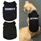 Puppy Kitten Clothes Vest Quote Security Cotton Dog Cat T-Shirt Pet Cloth
