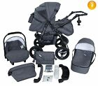Baby Pram Newborn Car Seat 3in1 Buggy Pushchair Stroller Carrycot Travel System  <br/> FREE DELIVERY &amp; RETURNS Xmas-extended dispatch time
