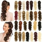 """New Ladies Synthetic Hair Extension Curly Long 22"""" Ponytail Molly"""