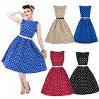 50s attire for women - Vintage 50s 60s Retro Style Rockabilly Pinup Housewife Party Swing Tea Dress US