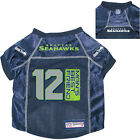 NEW SEATTLE SEAHAWKS PET DOG PREMIUM NFL 12th MAN'S BEST FRIEND JERSEY w/NAME TG $15.95 USD on eBay