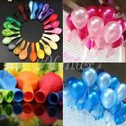 "100pcs 10"" Latex Ballons Helium Wedding Party Birthday Decoration Wholesale ad"