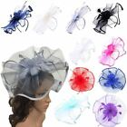 Womens Large Flower Hat Fascinator Aliceband Ladies Day Ascot Race