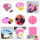 Flower Leaf Silicone Fondant Paste Mold Cake Decor DIY Resin Jewelry Craft Molds image