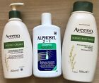 Aveeno Body Wash-Aveeno Cream-Alphosyl 2 in 1 Shampoo-Bath-Body-Health-Beauty