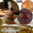 300ML Air Humidifier Ultrasonic Cool Mist Steam Aroma Diffuser Purifier Glow AU