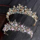 Classical Handmade Beaded Crystal Sweet Bridal Wedding Crown Hair Accessories