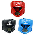 Black/Blue Boxing Pretection Gear Headgear Head Guard Trainning Helmet Kick FJ