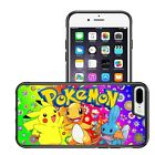 pokemon iphone 5s - POKEMON CHARACTERS FLOWERS BUMPER PHONE CASE IPHONE 5 6 7 8 X GALAXY S7 S8 S9