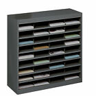 Safco Products Company Literature Organizer with 36 Letter-Size Compartments