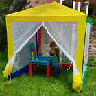 Kids Gazebo Outdoor Garden Multi Colour Childrens Marquee Tent Sun Shade Beach