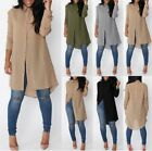 Four Fashion Women Irregular Sleeve Shirt Casual Blouse Loose Chiffon Long Tops