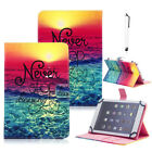 "PU Leather Stand Cover Case For Barnes & Noble NOOK 7"" 9"" Tablet + STYLUS"