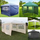 2-6M LARGE POP UP GAZEBOS PARTY TENT LAWN WEDDING MARQUEE AWNING GARDEN OUTDOOR
