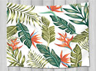 Tropical Leaves Tapestry Wall Hanging Bedroom Living Room Dorm Wall Blankets