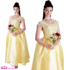 Disney Belle Beauty And The Beast Film Movie Official Ladies Fancy Dress Costume