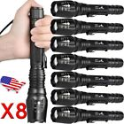 Ultrafire Tactical 20000LM Zoom T6 LED 5Mode Flashlight Torch Light 18650battery