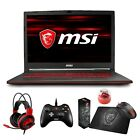 "MSI GL73 17.3"" Full HD Core i7-8750H i5-8300H GTX 1050Ti 1050 Gaming Laptop"