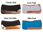 WESTERN WOOL FELT THERAPEUTIC NON SLIP SHOCK ABSORBING HORSE SADDLE PAD BLANKET