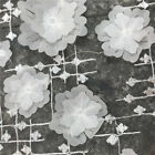 3D Floral Flower Embroidery Mesh Fabric Tool for Wedding Bridal Veil Lace Crafts